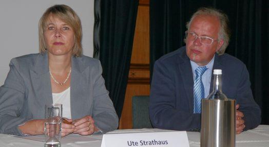 Gemeinden und Städte zusammenführen. um die Möglichkeiten besser zu nutzen: Dies wollen Ute Strathaus und Dirk Glaser